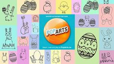 Need some #Easter #Crafts? We've got you covered. Check back for even more Easter #colouringpages!