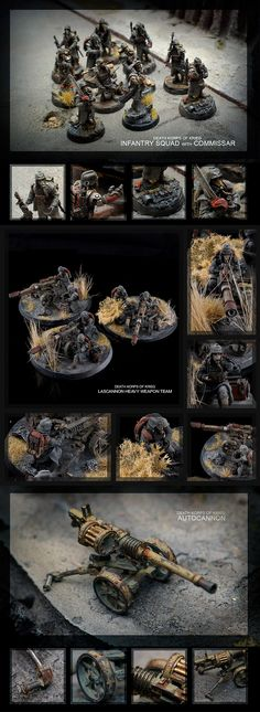 CoolMiniOrNot - Death Korps of Krieg force by de-Zigner