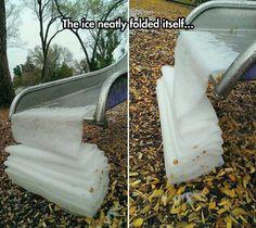 Beautiful Ribbon Ice