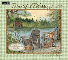 Lang Bountiful Blessings 2016 Wall Calendar by Susan Winget, January 2016 to December 2016, 13.375 x 24 Inches (1001897) Lang