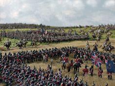 Benno's Figures Forum • Waterloo 1815 Military Diorama, Military Art, Military History, Waterloo 1815, Battle Of Waterloo, Bataille De Waterloo, Plastic Toy Soldiers, Military Modelling, Napoleonic Wars