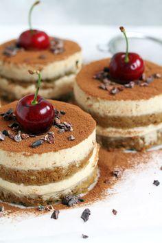 healthy Vegan gluten-free Tiramisu
