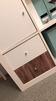 Kontaktplast på ikeamøbler 😊