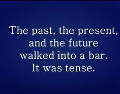 So very, very tense...