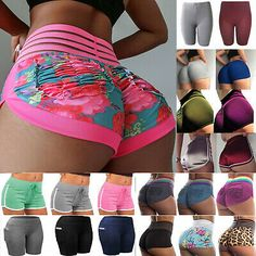 Compression Women Booty Shorts Yoga Pants Sport Gym Fitness Running Butt Lift TS - Ideas of Womens Yoga Shorts Yoga Shorts, Yoga Pants, Cute Sleepwear, Girl Outfits, Cute Outfits, Bikini Outfits, Sport Pants, Pretty Lingerie, Workout Leggings