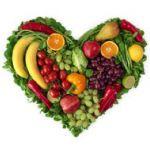Fruit, in de vorm van een hart #voeding #gezondheid