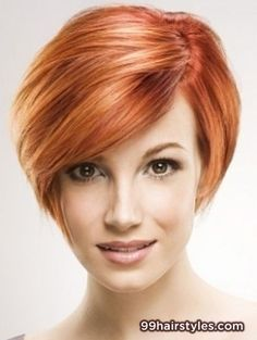 Short Red Pixie hairstyle idea - 99 Hairstyles Ideas