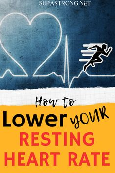 A lower resting heart rate is the surest sign of improving fitness and a stronger heart. To lower your resting heart rate, you have to use specific methods. Fun Workouts, At Home Workouts, Workout Tips, Workout Plans, Lower Heart Rate, Hiit Session, Cardiovascular Training, Heart Pump, Workout Results
