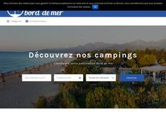French Camping portal. Describes only campsites at the beach.