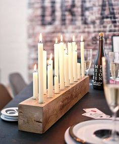 Rustic Candle Holder, Candlesticks , Wood Candle Holder , Center Piece – Sheena dream home – Kerzen Rustic Candle Holders, Rustic Candles, Diy Candlestick Holders, Diy Candlesticks, Candleholders, Diy Candle Holders Wedding, Long Candle Holder, Driftwood Candle Holders, Farmhouse Candles