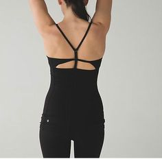 9afeb09750aed Details about NWT Lululemon Power Y Tank SE Barre - BLK - size 6
