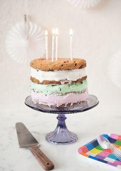 ice cream cake recipe - ice cream sandwich