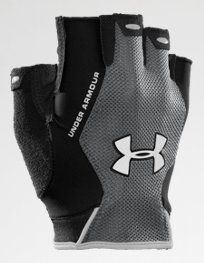 Under Armour Men's CTR Trainer HF Gloves: Lightweight performance fit geared to protect without hindering your workout. HeatGear and mesh fabric allow breathability and dry quickly, keeping your hands light and cool. Gym Gloves, Bike Gloves, Workout Gloves, Mens Gloves, Workout Gear, Calisthenics Equipment, Crossfit, Weight Lifting Gloves, Mud Run