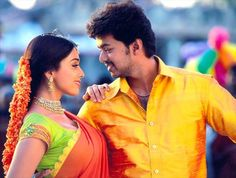 There is something 'loud and colourful' about songs in Tamil films. Peppy rhythm, amazingly fast dance moves, jazzy bright clothes and super settings.