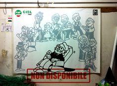 CISL - Festival delle Generazioni, 2014 Festival of Generations  Acrilico su tela / Acrylic on canvas 200 X 300 cm  NON DISPONIBILE / NOT AVAILABLE