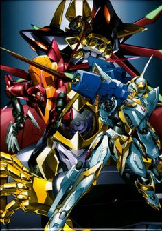 Code Geass, Knightmares   I really want to own and pilot my own Knightmare.