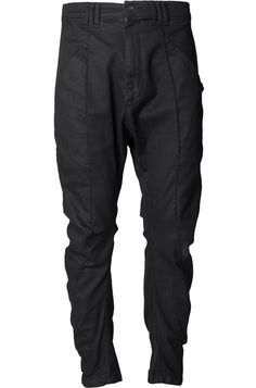 Army Of Me   Twisted coated cotton trousers