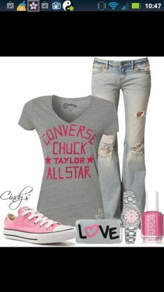 Laid-Back Outfit or For School