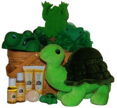 Lilly Pond Buddies Baby Spa Gift Basket « Blast Gifts