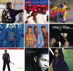 90s R&B Guy Groups | 90s R&B collage