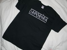 T-shirt Brazilian Capoeira 100% Cotton, Black, Gildan, Short Sleeve #Gildan #ShortSleeve