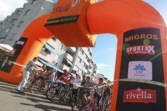 Start in Romanshorn, slowUp Bodensee 2012