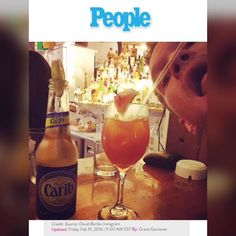 """American actor, Neil Patrick Harris, drew the attention of many Trinbagonians, who read the US-based """"People"""" Magazine, on Friday (Feb 19).   The magazine shared a photo of the """"How I Met Your Mother"""" star, enjoying a drink on its """"Best Celebrity Food Photos of The Week,"""" feature.  Adjacent to the cocktail that Harris was drinking, was a carefully placed """"Carib"""" beer bottle.  We are pretty sure that any Trinibagonian who saw this highlighted on the magazine, felt a sense of pride."""