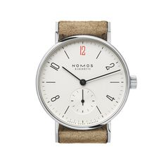 Special Edition Tangente 33 for Doctors Without Borders sapphire crystal back | Beautiful watches purchased online. Directly from NOMOS Glashutte/SA.