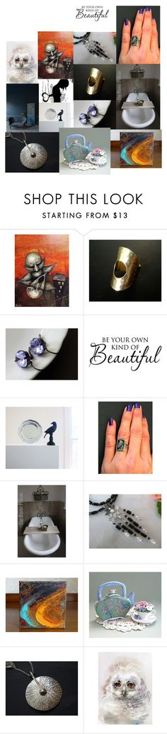 Be your own kind of beautiful by anna-recycle on Polyvore featuring Eurø Style, WALL, Farrow & Ball, rustic and vintage