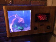Shrimp tank radio edition