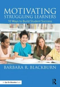 Motivating Struggling Learners: 10 Ways to Build Student Success (Paperback) book cover Classroom Discipline, Classroom Behavior Management, Microsoft, Teacher Books, Teacher Binder, Teacher Stuff, Intrinsic Motivation, Student Success, Student Motivation
