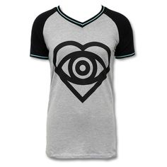 Click here to purchase this Official All Time Low Raglan V-Neck T-shirt
