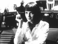 uma thurman in pulp fiction, 1994
