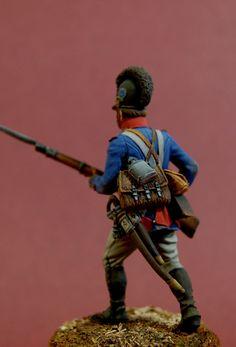 13th Line Infantry regiment, fusilier, Bavaria, 1805-1807 Paint by A. Lebedev