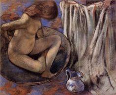 Woman in the Tub - Edgar Degas