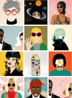 PINK GUMBEAUX: POP ART + POP CULTURE = AVERY NEJAM