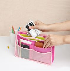Basic Purse Organizer v2.  Add the PAK in with this and I am on my way!!