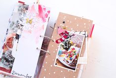 December Daily 2017 ist fertig - Yay :) - Scrap Sweet Scrap December Daily, Christmas Journal, Journal Layout, Junk Journal, Christmas Holidays, Gift Wrapping, Sweet, Creative, Albums