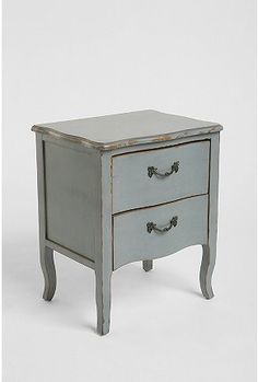Lola Side Table from Urban Outfitters ($179), like it but there has to be something similar and cheaper.
