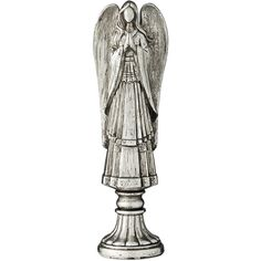 Lene Bjerre Serafina Angel Ornament Antique Silver 21.5cm ($24) ❤ liked on Polyvore featuring home, home decor, holiday decorations, silver, christmas tree lights, angel christmas tree ornaments, holiday decor, holiday christmas ornaments and christmas holiday decorations