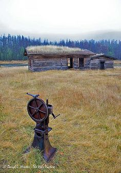 Sod Cabin, Green River Lakes, Sublette County, Wyoming
