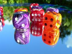 dice!!!  love the swirl-y colors :)