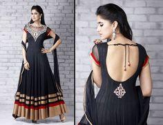 black dress....