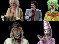 All the characters Katy Perry Birthday, Characters, Figurines