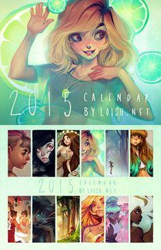 2015 Calendar by loish.deviantart.com on @DeviantArt