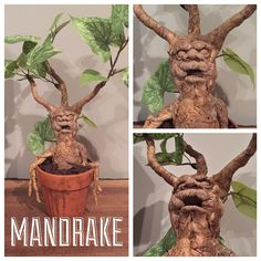 MTO Harry Potter Mandrake Plant by BrickArts on Etsy https://www.etsy.com/listing/262103115/mto-harry-potter-mandrake-plant
