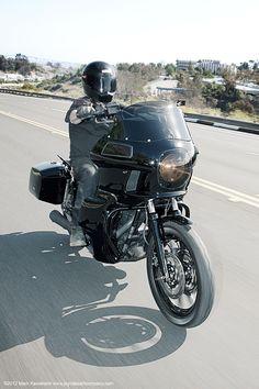 Don't tell mom, but Jason L. just made the Harley-Davidson Naughty List. | FXRT #HDNaughtyList
