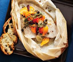 Healthy Fish Recipes: Food & Diet: self Sole en Papillote with Tomatoes and Olives Olive Recipes, Fish Recipes, Seafood Recipes, Cooking Recipes, Healthy Recipes, Healthy Meals, Quick Meals, Cooking Tips, Healthy Food