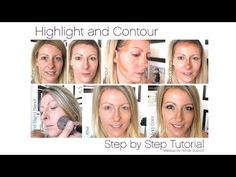 The basics of highlighting and contouring using Younique!