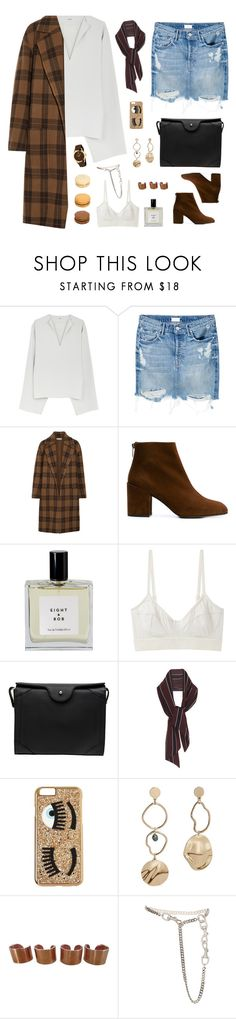 """""""Love is an irresistible desire to be irresistibly desired."""" by heypandagirl ❤ liked on Polyvore featuring Mother, Vince, Stuart Weitzman, Eight & Bob, Base Range, Carven, Chiara Ferragni, MANGO, Maison Margiela and Christian Dior"""